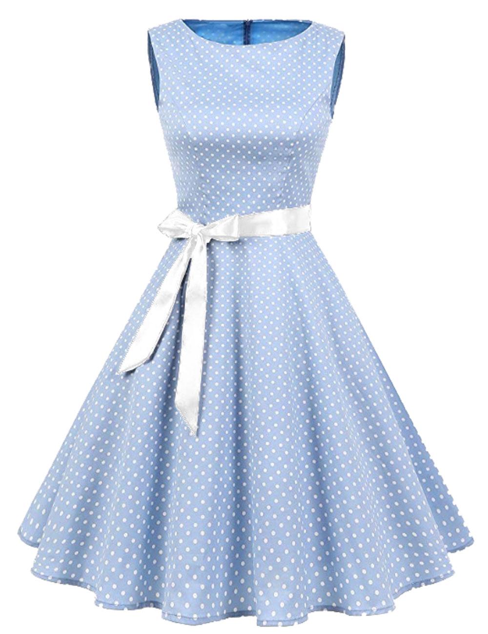 details zu damen rockabilly kleid petticoat partykleid cocktailkleid neu  gr. 38-50 (k1)